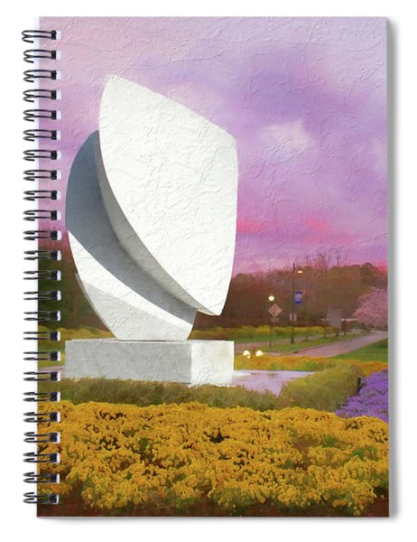 Elements At Sunset Christopher Newport University Spiral Notebook