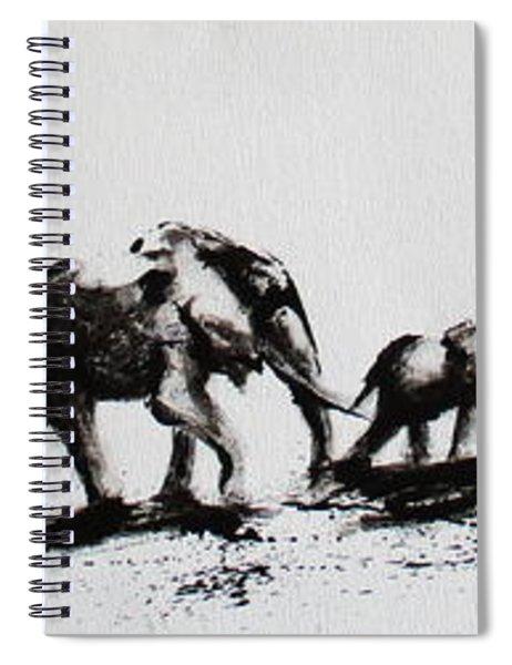 Elephant Fun Spiral Notebook