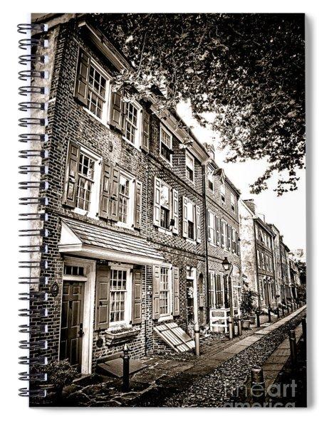 Elfreth Alley  Spiral Notebook