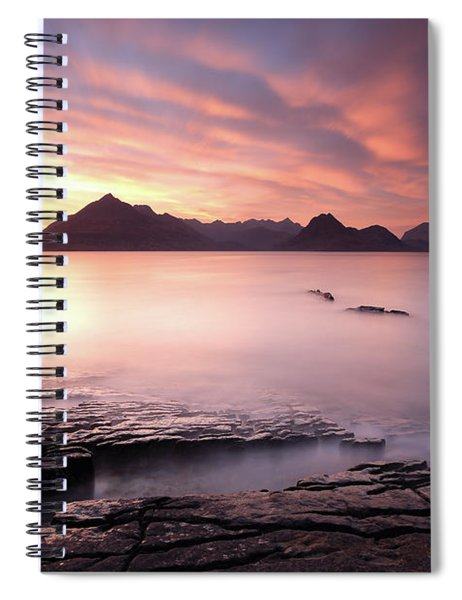 Elgol Sunset Spiral Notebook