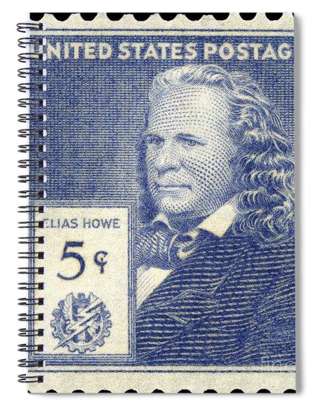 Elias Howe (1819-1867) Spiral Notebook