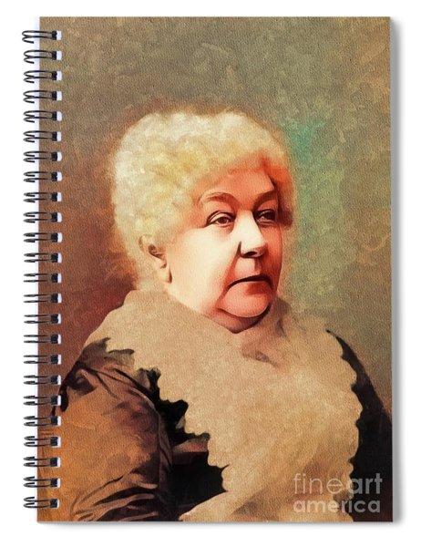 Elizabeth Cady Stanton, Suffragette Spiral Notebook
