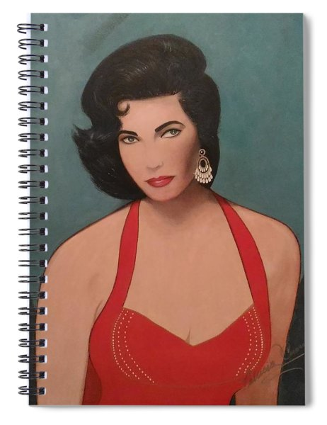 Elizabeth Taylor - Absolutely Beautiful Spiral Notebook