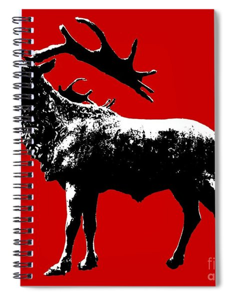 Elk Art Spiral Notebook
