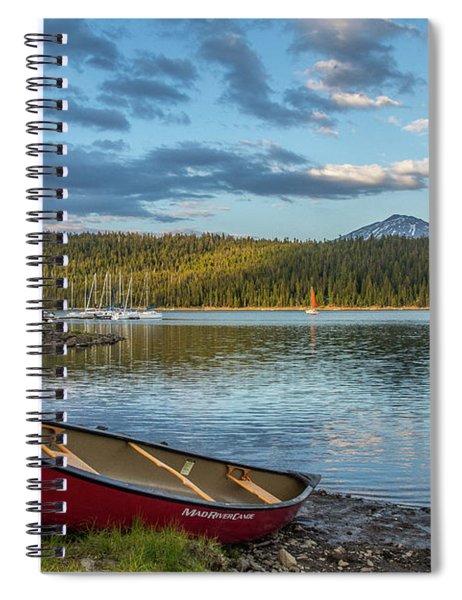 Elk Beach Memories Spiral Notebook