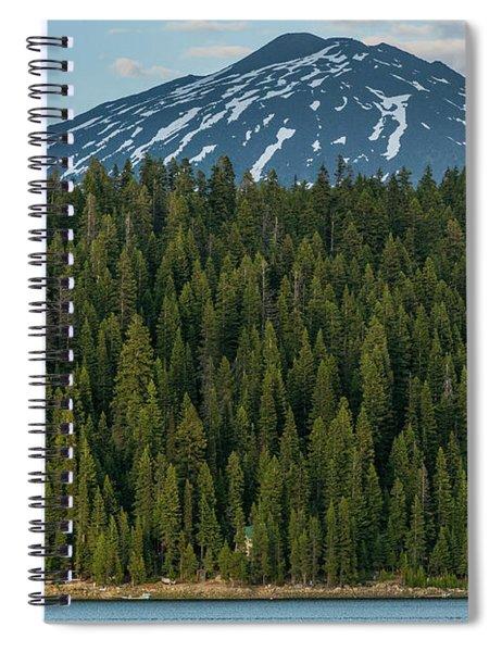 Elk Lake Sailing  Spiral Notebook