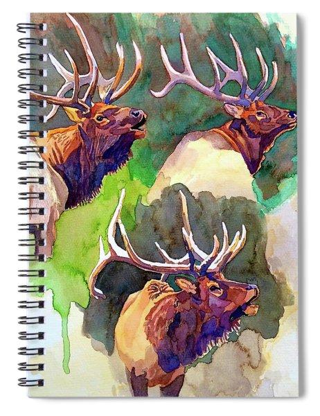 Elk Studies Spiral Notebook