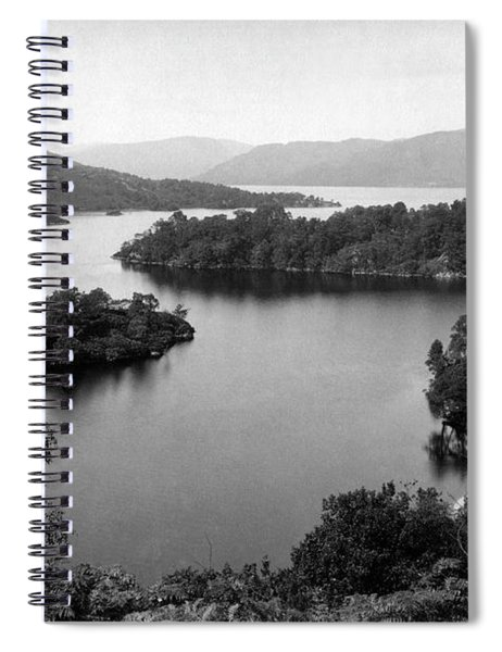 Ellens Isle And Lock Katrine Spiral Notebook
