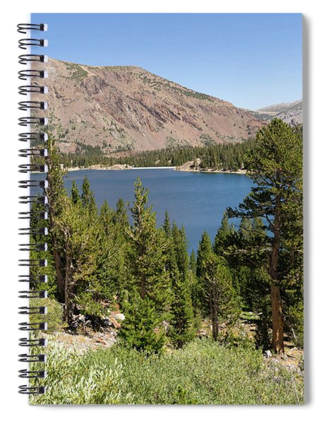 Ellery Lake Tioga Pass Yosemite California Dsc04314 Spiral Notebook