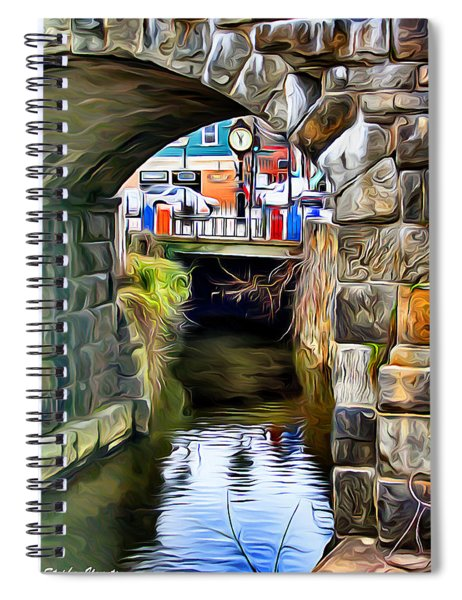 Ellicott City Bridge Arch Spiral Notebook