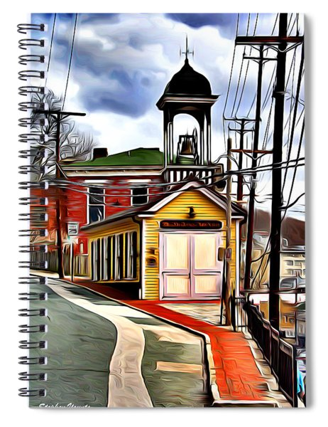Ellicott City Fire Museum Spiral Notebook