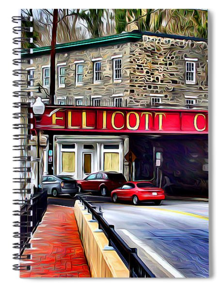 Ellicott City Spiral Notebook