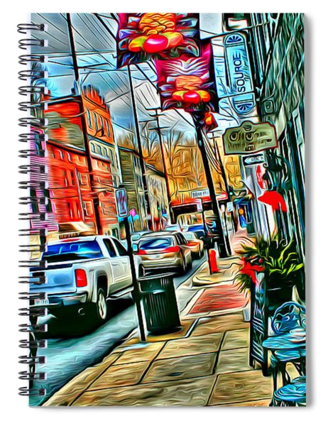 Ellicott City Street Spiral Notebook