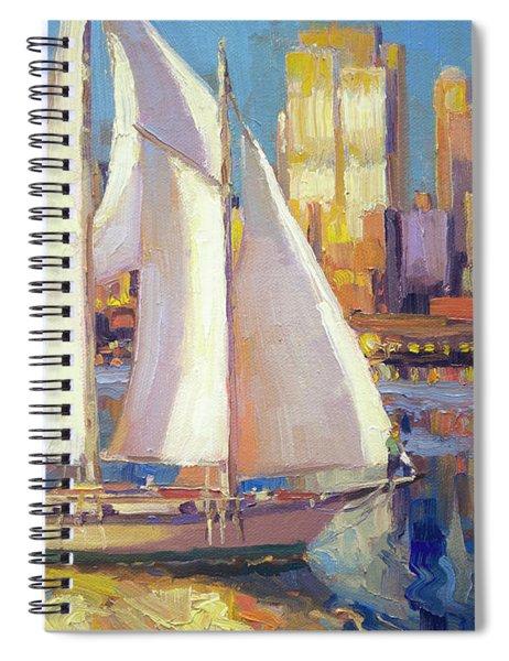 Elliot Bay Spiral Notebook