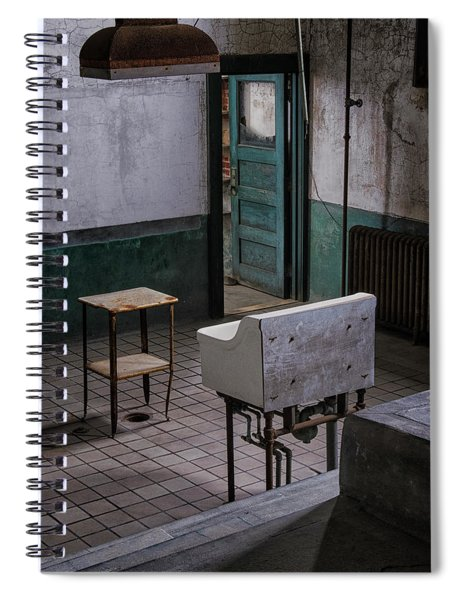 Ellis Autopsy Room Spiral Notebook