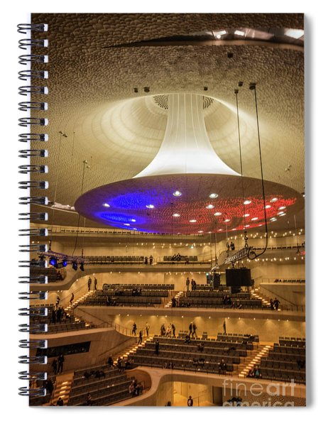 Elphi Hamburg Spiral Notebook