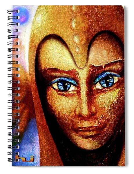 Elusive   Elf  Spiral Notebook