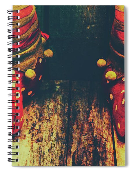 Elves And Feet Spiral Notebook