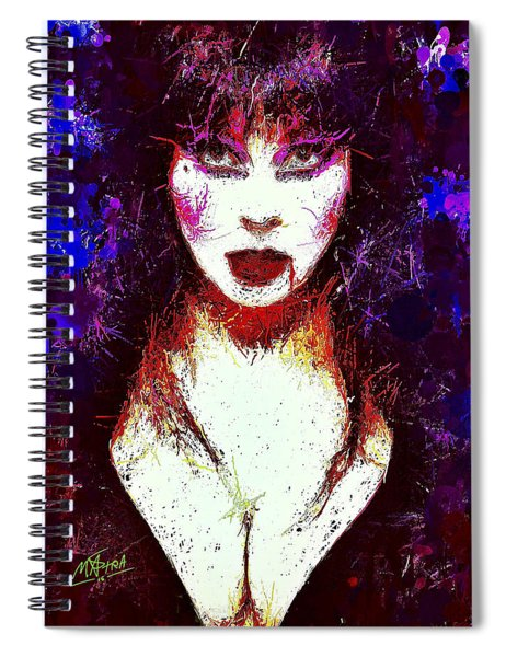 Elvira Mistress Of The Dark Spiral Notebook