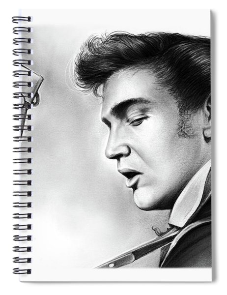 Elvis Presley Spiral Notebook