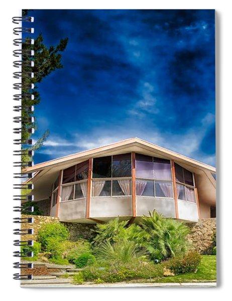 Elvis Presley Honeymoon House In Palm Springs Spiral Notebook