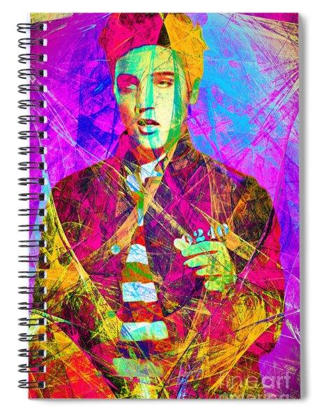 Elvis Presley Jail House Rock 20160520 Spiral Notebook