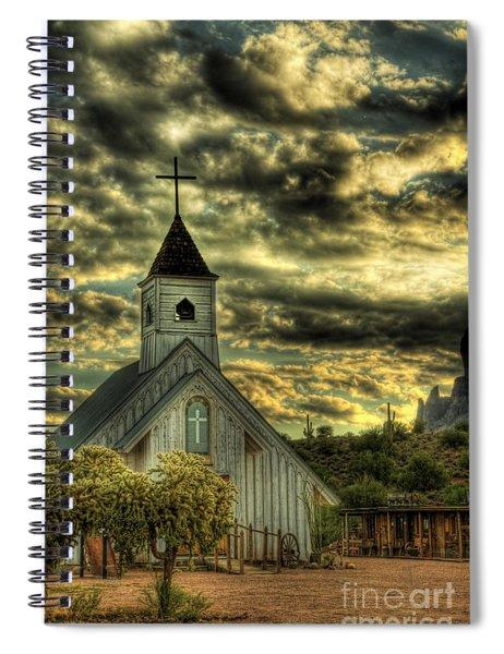 Elvis Presley Memorial Chapel  Spiral Notebook