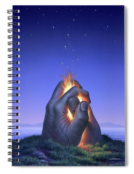 Embers Turn To Stars Spiral Notebook