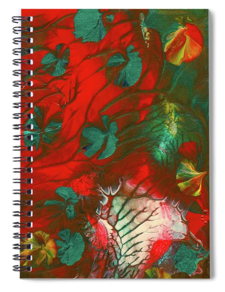 Emerald Butterfly Island Spiral Notebook