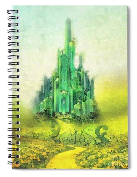 Emerald City Spiral Notebook