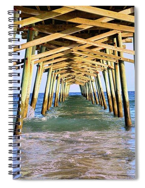 Emerald Isles Pier Spiral Notebook