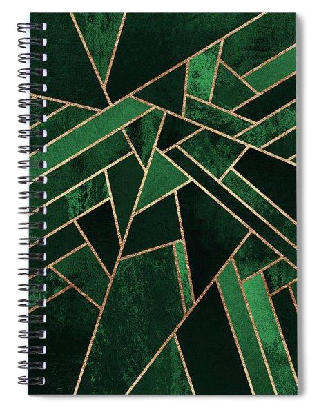 Emerald Night Spiral Notebook