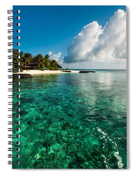 Emerald Purity. Maldives Spiral Notebook