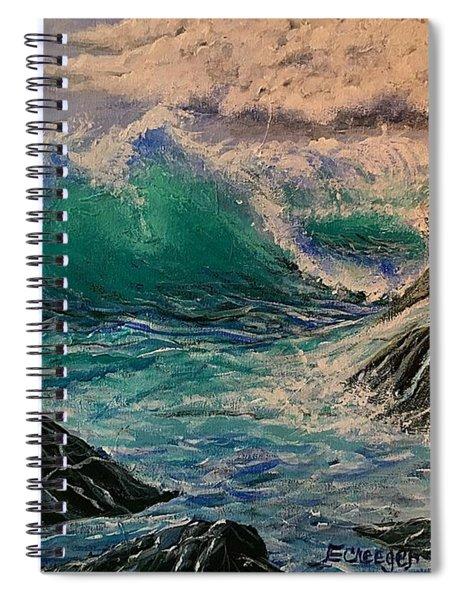 Emerald Sea Spiral Notebook