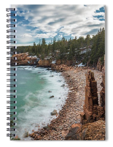 Emerald Shores At Monument Cove Spiral Notebook