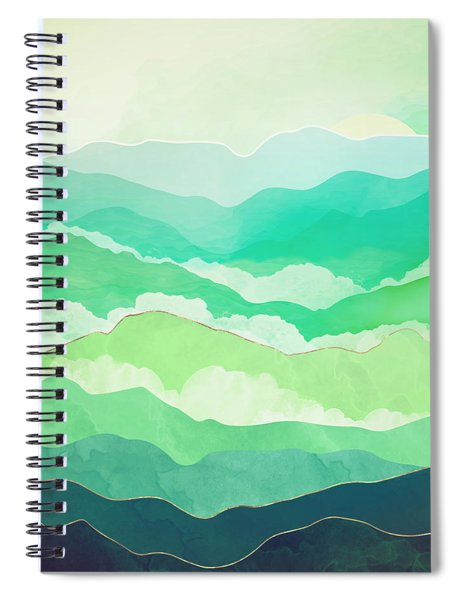 Emerald Spring Spiral Notebook