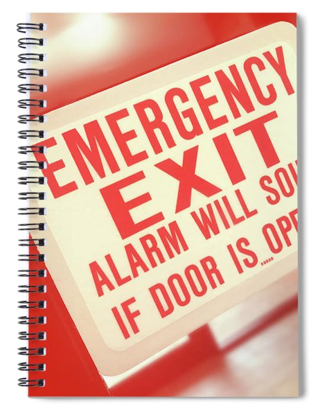 Emergency Spiral Notebook