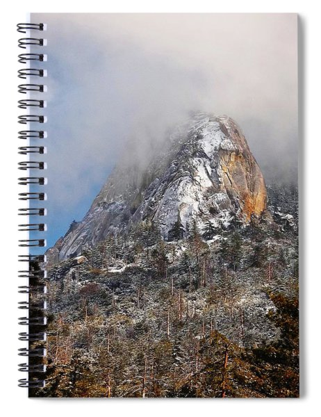 Emerging Peak - Idyllwild Spiral Notebook