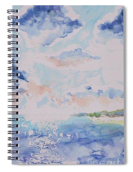 Emerging Sun 2 Spiral Notebook