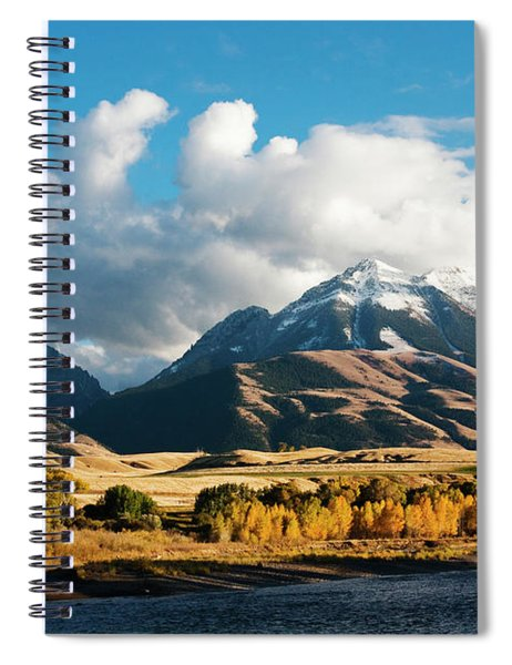 A Touch Of Paradise Spiral Notebook