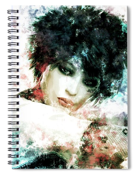 Emo Spiral Notebook
