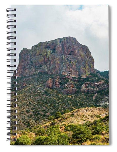 Emory Peak Chisos Mountains Spiral Notebook