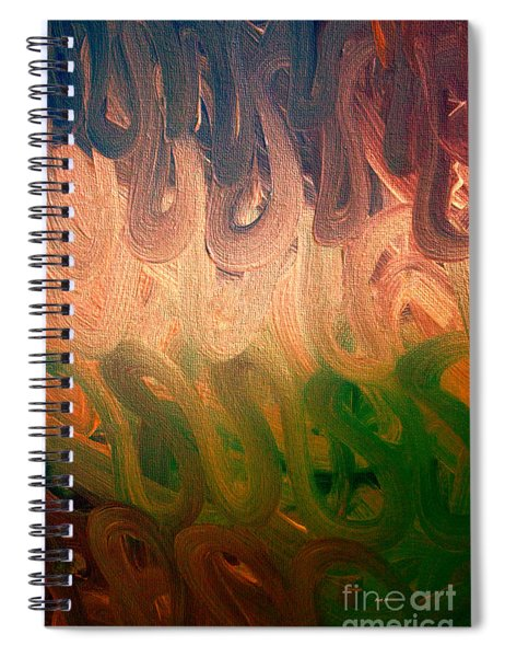 Emotion Acrylic Abstract Spiral Notebook