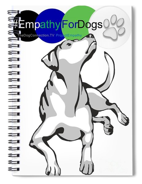 Empathy For Dogs Spiral Notebook