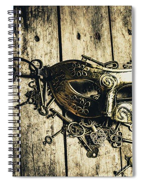 Emperors Keys Spiral Notebook