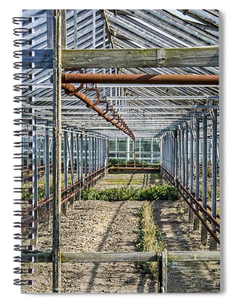 Empty Greenhouse Spiral Notebook