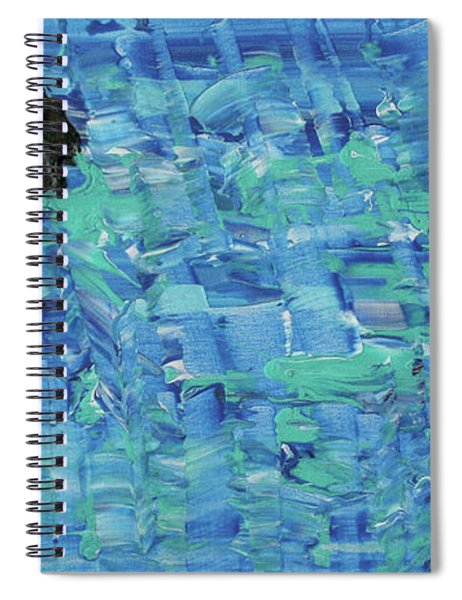 Empty Page Of Your Diary Spiral Notebook
