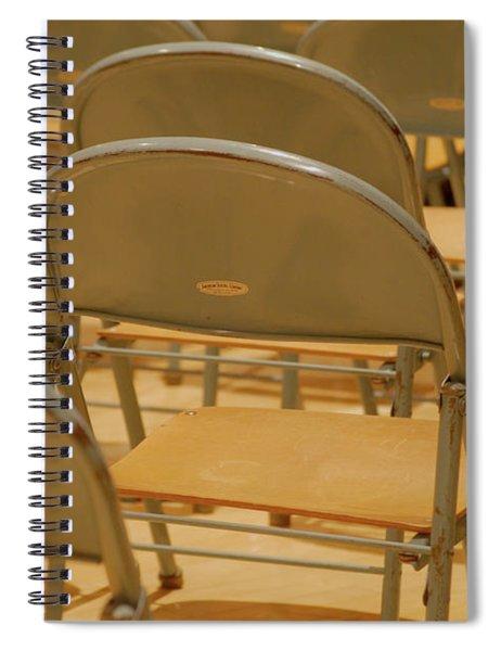 Empty Spiral Notebook
