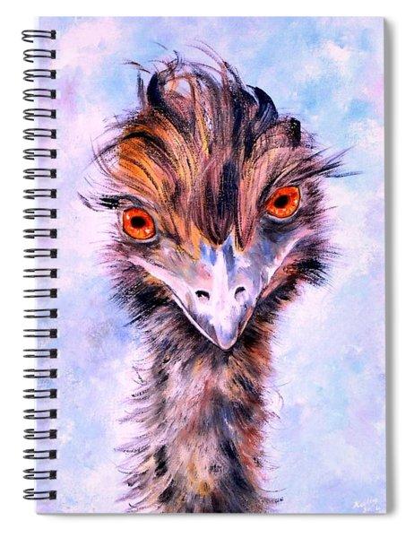 Emu Eyes Spiral Notebook