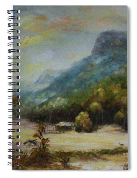 Emu Plains, Grampians Spiral Notebook